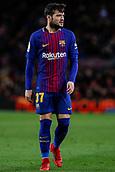 11th January 2018, Camp Nou, Barcelona, Spain; Copa del Rey football, round of 16, 2nd leg, Barcelona versus Celta Vigo; Jose Arnaiz of FC Barcelona
