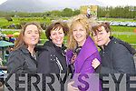 Geraldine O'Sullivan, Geraldine, Anne and Madeline Spillane Killarney  at the Killarney Races on Sunday