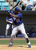 April 1, 2004:  Third baseman Adrian Beltre of the Los Angeles Dodgers organization during Spring Training at Space Coast Stadium in Melbourne, FL.  Photo copyright Mike Janes/Four Seam Images