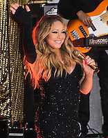 NEW YORK CITY, NY, USA - MAY 16: Singer Mariah Carey performs on NBC's 'Today' at Rockefeller Center on May 16, 2014 in New York City, New York, United States. (Photo by Jeffery Duran/Celebrity Monitor)