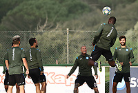 4th November 2019; Castelvolturno training center , Campania, Italy; UEFA Champions League Group Stage Football, Napoli versus Red Bull Salzburg, Napoli Training: Kalidou Koulibaly of Naples  - Editorial Use