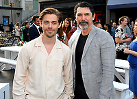 BEVERLY HILLS - AUGUST 7: Tom Payne and Lou Diamond Phillips attend the FOX 2019 Summer TCA All-Star Party on New York Street on the FOX Studios lot on August 7, 2019 in Los Angeles, California. (Photo by Vince Bucci/FOX/PictureGroup)