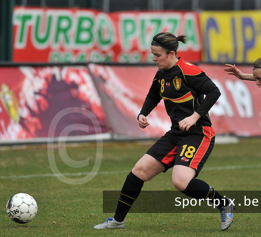 France U19 - Belgium U19 : Maria Laura Aga Martinez.foto DAVID CATRY / Nikonpro.be