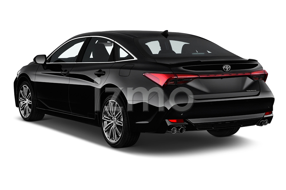 Car pictures of rear three quarter view of a 2020 Toyota Avalon Touring 4 Door Sedan angular rear