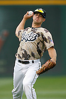 July 22 2007: Chris Pettit of the Rancho Cucamonga Quakes during game against the Modesto Nuts at The Epicenter in Rancho Cucamonga,CA.  Photo by Larry Goren/Four Seam Images