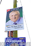 BLAST FROM THE PAST: A poster of Bertie Ahern turned up in Ardfert village on polling day last Friday which forced many passers-by to look up a second time.