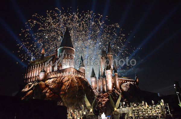 "05 April 2016 - Universal City, California - Atmosphere. Arrivals for Universal Studios' ""Wizarding World of Harry Potter Opening"" held at Universal Studios Hollywood. Photo Credit: Birdie Thompson/AdMedia"