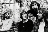 PINK FLOYD - L-R: Rick Wright, Roger Waters, Nick Mason, David Gilmour - London 1973.  Photo credit: GEMA Images/IconicPix