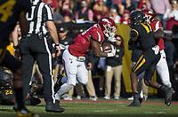 Hawgs Illustrated/BEN GOFF <br /> David Williams, Arkansas running back, runs for a touchdown against Missouri in the first quarter Friday, Nov. 24, 2017, at Reynolds Razorback Stadium in Fayetteville.