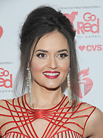 NEW YORK, NY - FEBRUARY 07: Danica McKellar attends The American Heart Association's Go Red For Women Red Dress Collection 2019 Presented By Macy's at Hammerstein Ballroom on February 7, 2019 in New York City.     <br /> CAP/MPI/GN<br /> &copy;GN/MPI/Capital Pictures