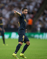 Joao Moutinho of Monaco during the UEFA Champions League Group stage match between Tottenham Hotspur and Monaco at White Hart Lane, London, England on 14 September 2016. Photo by Andy Rowland.