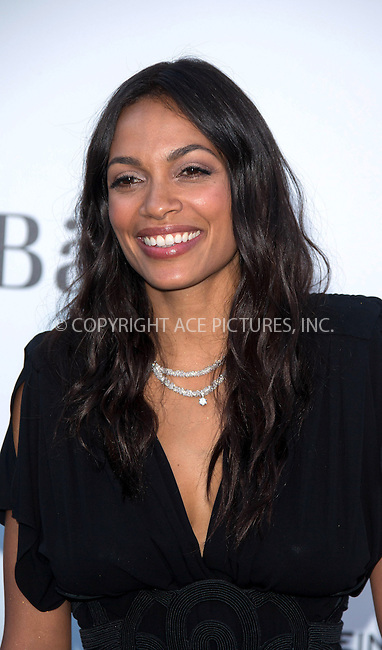 WWW.ACEPIXS.COM....US Sales Only....May 23 2013, New York City....Rosario Dawson at amfAR's Cinema Against AIDS Gala at the Hotel du Cap Eden Roc during the Cannes Film Festival on May 23 2013 in France....By Line: Famous/ACE Pictures......ACE Pictures, Inc...tel: 646 769 0430..Email: info@acepixs.com..www.acepixs.com