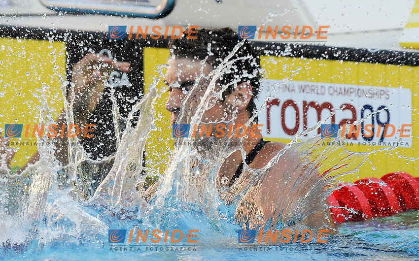Roma 1st August 2009 - 13th Fina World Championships .From 17th to 2nd August 2009.Men's 100m Butterfly.Michael PHELPS (USA) Gold Medal.Roma2009.com/InsideFoto/SeaSee.com . .Foto Andrea Staccioli Insidefoto