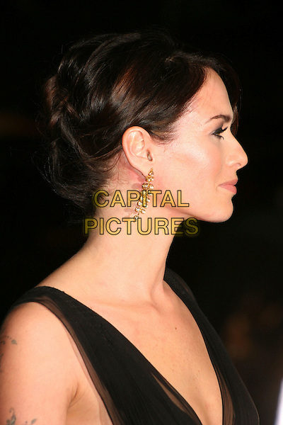 "LENA HEADEY.""300"" Los Angeles Premiere at Grauman's Chinese Theatre, Hollywood, California, USA..March 5th, 2007.headshot portrait profile earrings .CAP/ADM/BP.©Byron Purvis/AdMedia/Capital Pictures"