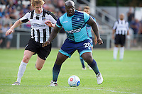 Adebayo Akinfenwa of Wycombe Wanderers during the Friendly match between Maidenhead United and Wycombe Wanderers at York Road, Maidenhead, England on 30 July 2016. Photo by Alan  Stanford PRiME Media Images.
