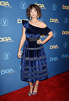 HOLLYWOOD, CA - FEBRUARY 02: Milana Vayntrub attends the 71st Annual Directors Guild Of America Awards at The Ray Dolby Ballroom at Hollywood &amp; Highland Center on February 02, 2019 in Hollywood, California.<br /> CAP/ROT/TM<br /> &copy;TM/ROT/Capital Pictures