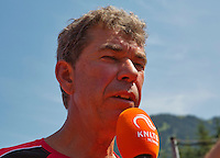 Austria, Kitzbühel, Juli 18, 2015, Tennis,  Junior Davis Cup, Austrian junior coach Michiel Schapers (NED)<br /> Photo: Tennisimages/Henk Koster
