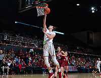 Stanford, California - January 20, 2019: Stanford Women's Basketball defeats Washington State 85-64 at Maples Pavilion in Stanford, California.