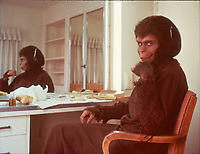 Planet of the Apes (1968) <br /> Behind the scenes photo of Kim Hunter<br /> *Filmstill - Editorial Use Only*<br /> CAP/KFS<br /> Image supplied by Capital Pictures