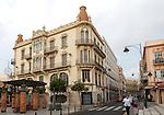 Melilla autonomous city state Spanish territory in north Africa, Spain -1900s modernist architecture