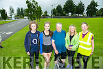 l-r  Sinead Kearney, Leona Stack, Timmy Griffin, Maria Griffin and Mary Hogan at the Jamie Wrenn Walk to Castlegregory in aid of Recovery Haven on Saturday