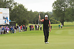 Richard Green (AUS) snks his putt on the 18th green during Day 3 Saturday of The Irish Open presented by Discover Ireland at Killarney Golf & Fishing Club on 30th July 2011 (Photo Fran Caffrey/www.golffile.ie)
