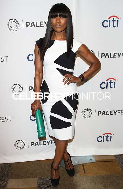 """HOLLYWOOD, LOS ANGELES, CA, USA - MARCH 28: Angela Bassett at the 2014 PaleyFest - """"American Horror Story"""" held at the Dolby Theatre on March 28, 2014 in Hollywood, Los Angeles, California, United States. (Photo by Celebrity Monitor)"""