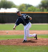 Eric Yardley - San Diego Padres 2018 spring training (Bill Mitchell)