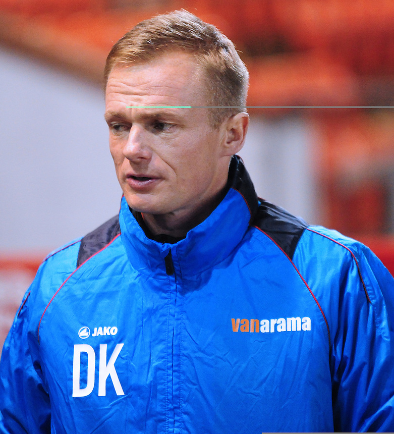 Wrexham manager Dean Keates <br /> <br /> Photographer Andrew Vaughan/CameraSport<br /> <br /> Vanarama National League - Lincoln City v Wrexham - Tuesday 29th November 2016 - Sincil Bank - Lincoln<br /> <br /> World Copyright &copy; 2016 CameraSport. All rights reserved. 43 Linden Ave. Countesthorpe. Leicester. England. LE8 5PG - Tel: +44 (0) 116 277 4147 - admin@camerasport.com - www.camerasport.com
