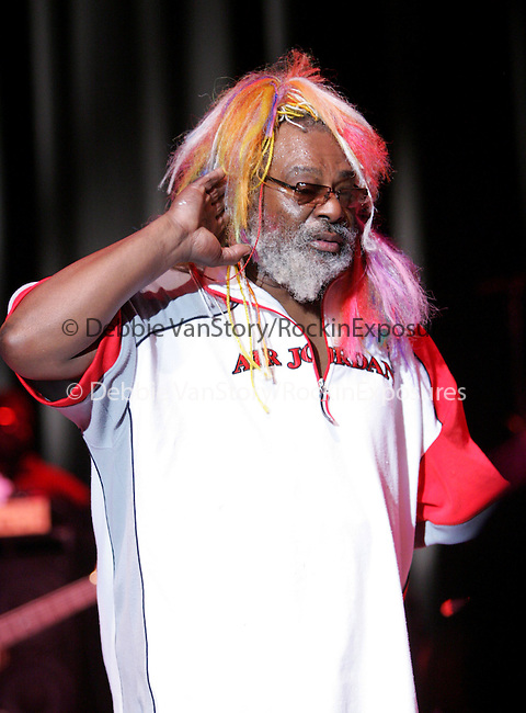 The 50th Anniversary of George Clinton & Parliament/Funkadelic with friends Bootsy Collins and special guests The Red Hot Chili Peppers perform at The Greek Theatre in Los Angeles,California on September 9,2005.Copyright 2005 by RockinExposures