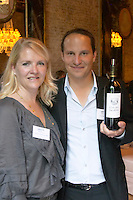magali and thibaut decoster of clos des jacobins saint emilion bordeaux france