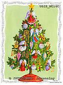 Ingrid, CHRISTMAS SYMBOLS, WEIHNACHTEN SYMBOLE, NAVIDAD SÍMBOLOS, paintings+++++,USISMC16C,#XX# vintage