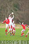 Pobalscoil Chorca Dhuibhne  v  Skibbereen in their Munster Colleges quarter final clash at Legion.   Copyright Kerry's Eye 2008