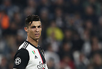 Football Soccer: UEFA Champions League -Group Stage-  Group D - Juventus vs Lokomotiv Moskva, Allianz Stadium. Turin, Italy, October 22, 2019.<br /> Juventus' Cristiano Ronaldo reacts during the Uefa Champions League football soccer match between Juventus and Lokomotiv Moskva at Allianz Stadium in Turin, on October 22, 2019.<br /> UPDATE IMAGES PRESS