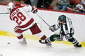 Chris Huxley (Harvard - 28), Dan Markowitz (Dartmouth - 28) - The Harvard University Crimson defeated the Dartmouth College Big Green 4-1 (EN) on Monday, January 18, 2010, at Bright Hockey Center in Cambridge, Massachusetts.