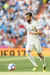 Nacho of Real Madrid in action during the La Liga match between Real Madrid and Osasuna at the Santiago Bernabeu Stadium on 10 September 2016 in Madrid, Spain. Photo by Diego Gonzalez Souto / Power Sport Images