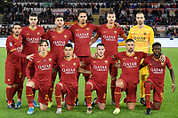 AS Roma team line up<br /> Roma 5-1-2020 Stadio Olimpico <br /> Football Serie A 2019/2020 <br /> AS Roma - Torino FC <br /> Foto Andrea Staccioli / Insidefoto