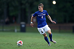 ELON, NC - SEPTEMBER 02: Presbyterian's Luca Ziegler (GER). The Elon University Phoenix hosted the Presbyterian College Blue Hose on September 2, 2017 at Rudd Field in Elon, NC in a Division I college soccer game. Elon won the game 2-0.
