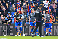 Crystal Palace fans show their passion before the game during Crystal Palace vs Brighton & Hove Albion, Premier League Football at Selhurst Park on 14th April 2018