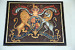 King George third royal coat of arms All Saints and St Margaret's church, Chattisham