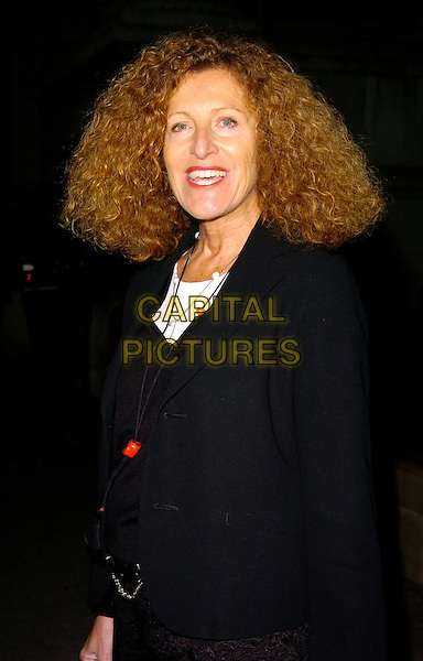 NICOLE FARHI.The National Cafe Launch Party, National Gallery, London, UK..OCtober 26th, 2006.Ref: CAN.half length black jacket.www.capitalpictures.com.sales@capitalpictures.com.©Can Nguyen/Capital Pictures