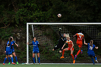 Seattle, WA - Saturday April 22, 2017: Haley Kopmeyer during a regular season National Women's Soccer League (NWSL) match between the Seattle Reign FC and the Houston Dash at Memorial Stadium.