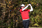 31 October 2016: Liberty University's Mickey DeMorat. The Third Round of the 2016 Bridgestone Golf Collegiate NCAA Men's Golf Tournament hosted by the University of North Carolina Greensboro Spartans was held on the West Course at the Grandover Resort in Greensboro, North Carolina.