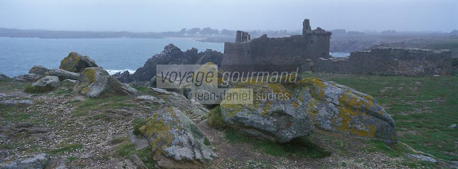 Europe/France/Pays de la Loire/85/Vendée/Ile d'Yeu/Côte Sauvage: Le Vieux Château