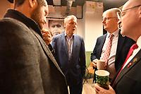 Picture by Simon Wilkinson/SWpix.com - 09/11/2018 - RLWC 2021 Rugby League World Cup 2021 Paul Barrière Trophy - The Cockerel Reveal, Avenue HQ. Leeds<br /> - Gary Hetherington