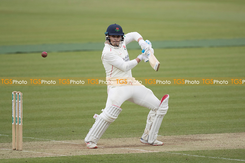 Rob Jones of Lancashire CCC guides the ball through third for four during Middlesex CCC vs Lancashire CCC, Specsavers County Championship Division 2 Cricket at Lord's Cricket Ground on 12th April 2019