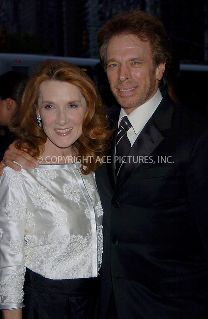 WWW.ACEPIXS.COM . . . . .  ....NEW YORK, MAY 8, 2006....Jerry Bruckheimer and Linda Bruckheimer at Time Magazine's 100 Most Influential People 2006... ....Please byline: AJ Sokalner - ACEPIXS.COM.... *** ***..Ace Pictures, Inc:  ..(212) 243-8787 or (646) 769 0430..e-mail: picturedesk@acepixs.com..web: http://www.acepixs.com