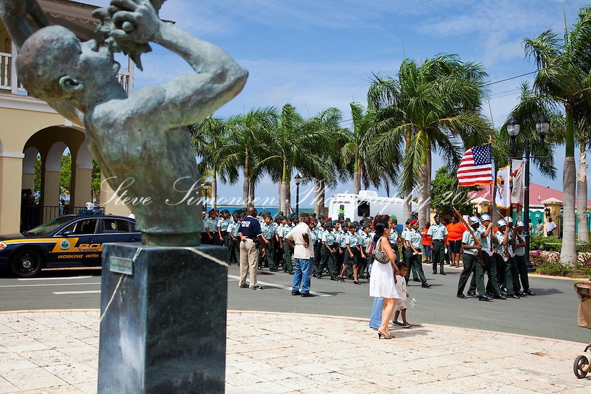 Memorial Day Parade<br /> Fredericksted, St Croix<br /> U.S. Virgin Islands