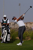 Dustin Johnson (USA) on the 14th during Round 3 of the Saudi International at the Royal Greens Golf and Country Club, King Abdullah Economic City, Saudi Arabia. 01/02/2020<br /> Picture: Golffile | Thos Caffrey<br /> <br /> <br /> All photo usage must carry mandatory copyright credit (© Golffile | Thos Caffrey)