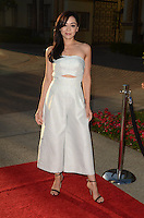 """LOS ANGELES, CA - AUGUST 31: Aimee Garcia at the """"Sister Cities"""" Los Angeles Premiere at Paramount Studios in Los Angeles, California on August 31, 2016. Credit: David Edwards/MediaPunch"""